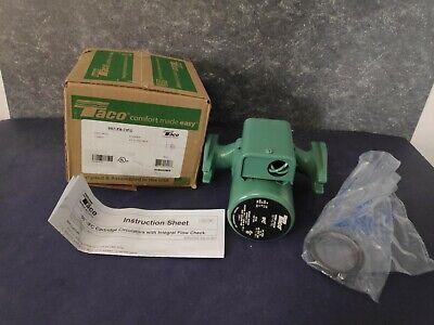 Taco 007-f5-7ifc Cast Iron Circulator Pump - Brand New