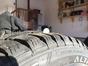 Winter Tires 205/55 R16 91Q with rims.