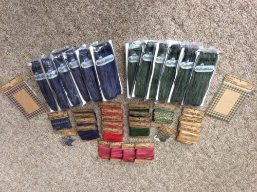 Paper Craft HUGE LOT Raffia Ribbon Paper Gift Tags Gift Bag Shapes Cards NIP