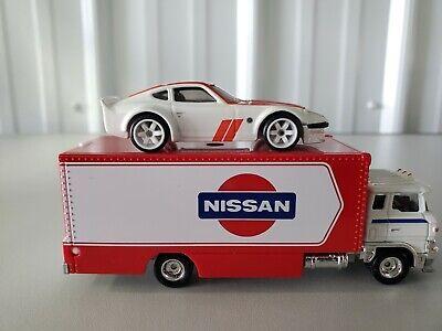 Hot wheels car culture team transport nissan fairlady Z sakura sprinter Loose