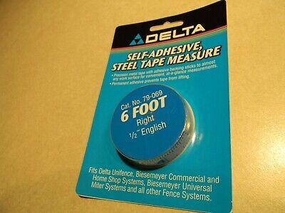 Deltabiesemeyer 79-069 6 Rh Tape 12 English Markings 2-5
