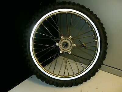 YAMAHA YZF 250 FRONT WHEEL 2005 MX SPARES FITS 2003 TO 2005 for sale  Shipping to Ireland