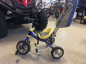 HUFFY PUSH-ALONG TRICYCLE