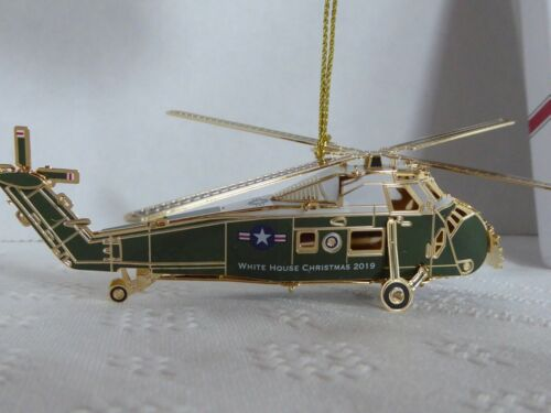 NEW 2019 White House Christmas Ornament: Dwight Eisenhower Sikorsky Helicopter