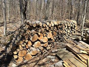 3 Large Piles of Firewood ($250.00)