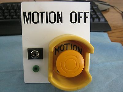 Idec Motion Off Switch. Cannot Id Manufacturers Model