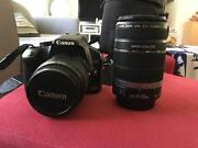 Canon  EOS 450 EF-SKit 12.2 MP Digital SLR Camera black kit wit Bow Bowing Campbelltown Area Preview