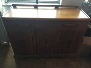 Buffet table and China cabinet