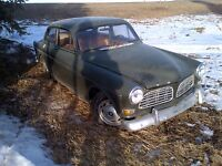 antique volvo.trade for tow truck
