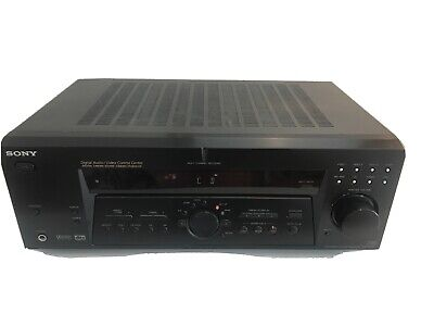 Sony AV Receiver Amplifier Tuner Stereo Digital Dolby Surround STR-DE675