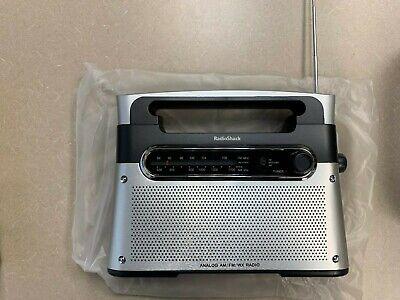 **NEW** Radio Shack AM/FM/Weather Portable Radio 120-0889