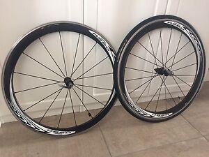 Roues velo route shimano RS-80 -C50