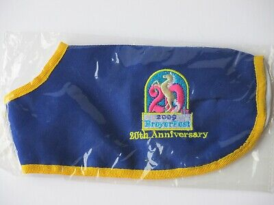 NEW 2009 Breyer Traditional Model Horse BreyerFest Blanket - 20th Anniversary
