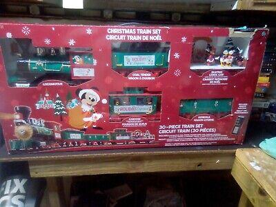 Disney 30 piece Christmas Train Set