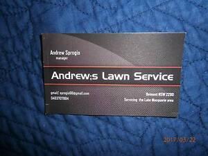 lawn mowing handyman sevice Belmont Lake Macquarie Area Preview