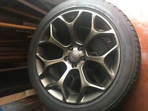 "20"" Rims with 245/45  Tires"