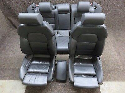 Orig. Audi A6 4F S LINE Leather Trim Memory Black Sportsitze Heated Seats
