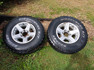 16x8 Alloy Rims 4x4 Collingwood Park Ipswich City Preview