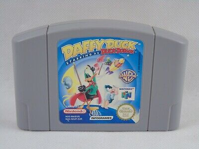 Daffy Duck Starring as Duck Dodgers N64 Nintendo 64 Cartridge PAL