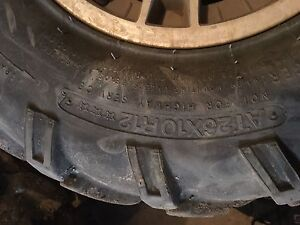 Can am 800 wheels and tires $300