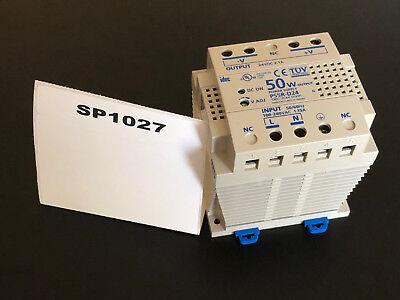 Idec Ps5r-d 120-240vac Input 24 Volt 50 Watt Output Switching Power Supply