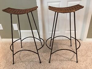 Wicker Bar Stools