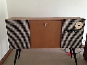Vintage 1970's record player Heidelberg Banyule Area Preview