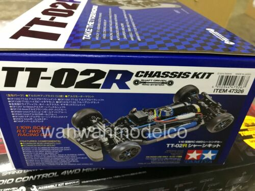 Tamiya 47326 1/10 Scale RC 4WD On-Road Car TT-02 Type R Chassis Kit TT-02R
