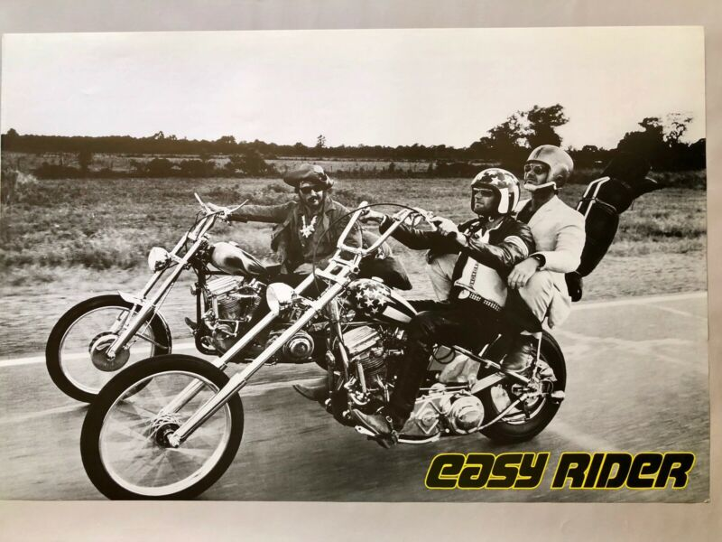 Easy Rider Poster Print 24x36