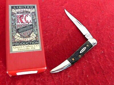 Robeson USA mint in box green bone #16 toothpick knife