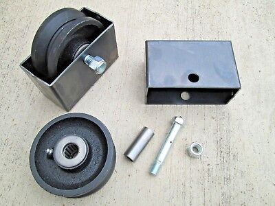 Band Sawmill Carriage Cast Iron Caster Wheels Wboxes Carriage Rollers Steampunk