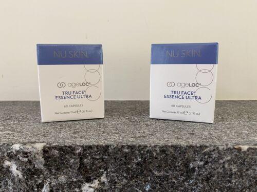 2 Nu Skin AgeLOC Tru Face Essence Ultra Firming Serum 60 Capsules, Exp. 4/24 - $159.99