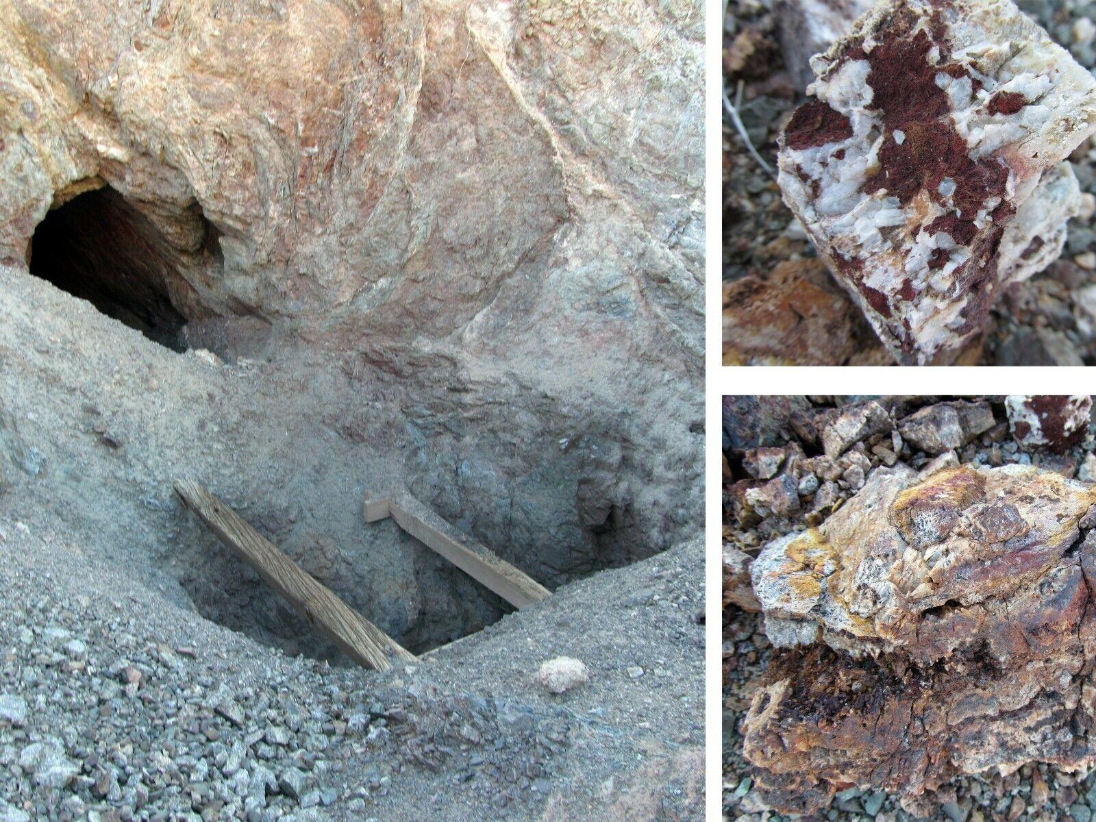 California Gold Mine San Bernardino County Silver Mining Claim Adit Tunnel Shaft
