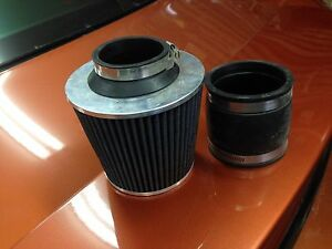 Cool air intake filter and connecter