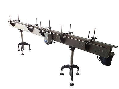 20 Feet Conveyor 4.5 In Table Top Ac Motor Frequency Drive