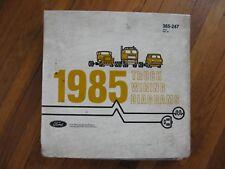 1985 Ford Econoline van Wiring Diagrams | eBay