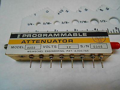 Model 9959 Weinschel Sma Programmable Attenuator 10db-20db New Old Stock