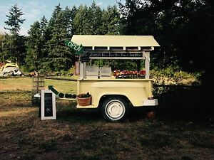 1956 Chevy Farm Stand Concession Trailer