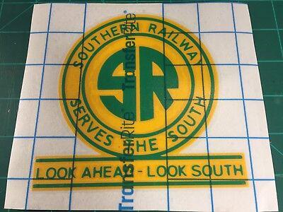 Southern Railway - Decal - Look Ahead Look South