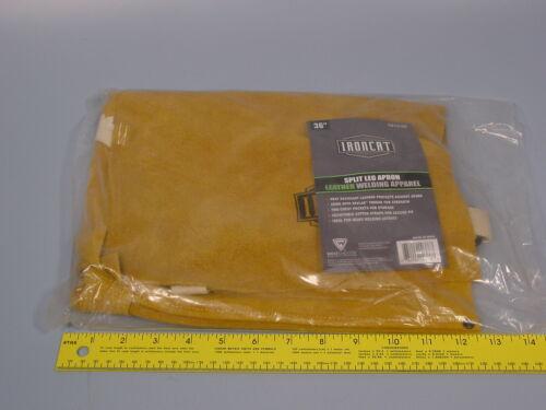 West Chester 7011/36 Ironcat Leather Split Leg Apron