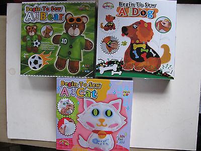 craft kits kids ready to sew knit
