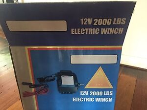 Electric boat winch 12V 2000lbs Alexandra Hills Redland Area Preview