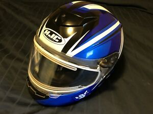 HJC XXL HELMET WITH HEATED VISOR