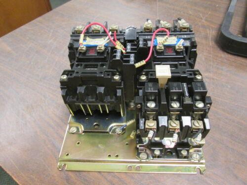 Allen-bradley Size 0 Reversing Starter 505-a0d 115-120v Coil 18a 600v Used