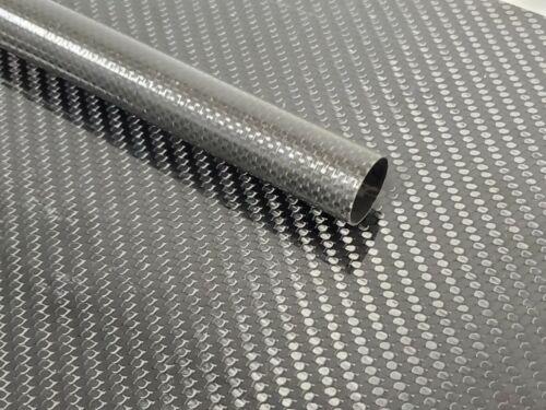 Carbon Fiber Tube Plain Weave .95 x 1.0 x 18 inch (listed 8-28-19)