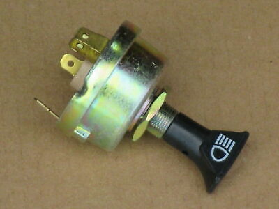 Headlight Switch For Ford Light 9000 9200 9600 9700 Backhoe 420 550 555 555a
