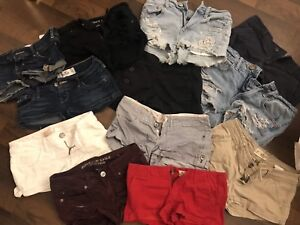 Various Brand Named Women's Short Shorts Size XS-Small