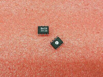 5x Jrc Ba4558 Op-ampdualbipolardip8pin