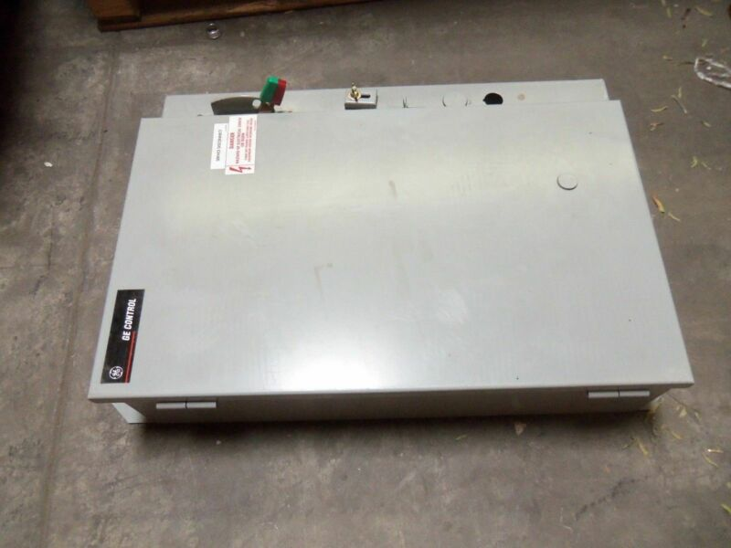 GENERAL ELECTRIC CR341D044BBB1FA PUMP CONTROL PANEL NSNP