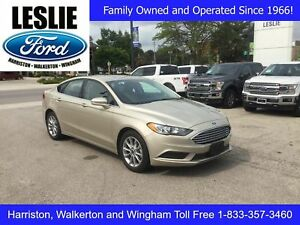 2017 Ford Fusion SE | One Owner | Accident Free | Bluetooth